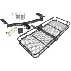 Trailer Tow Hitch For 07-15 Ford Edge Lincoln MKX Basket Cargo Carrier Platform Hitch Lock and Cover