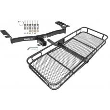 Trailer Tow Hitch For 07-15 Ford Edge Lincoln MKX Basket Cargo Carrier Platform w/ Hitch Pin