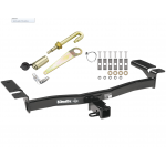 "Trailer Tow Hitch For 07-14 Ford Edge 07-15 Lincoln MKX Class 3 2"" Towing Receiver w/ J-Pin Anti-Rattle Lock"