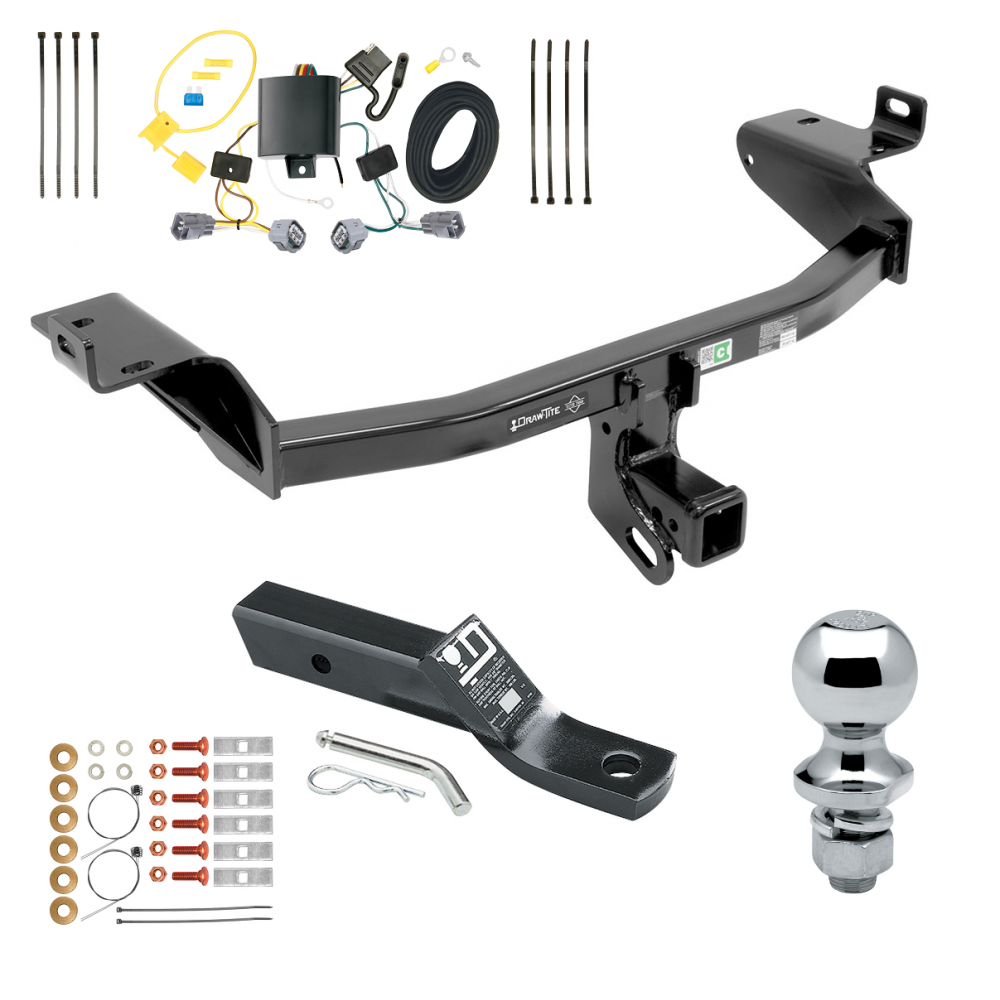 Trailer Tow Hitch For 2019 Jeep Cherokee Complete Package