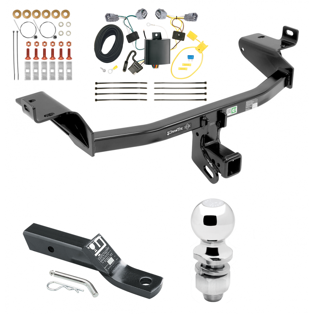 trailer tow hitch for 2019 jeep cherokee complete package. Black Bedroom Furniture Sets. Home Design Ideas
