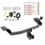 Trailer Tow Hitch For 2019 Jeep Cherokee w/ Wiring Harness Kit