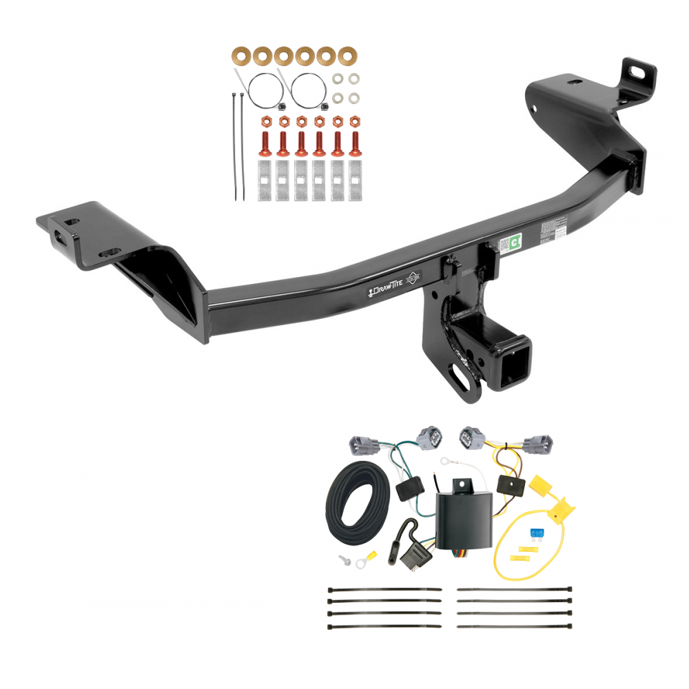 trailer tow hitch for 14 18 jeep cherokee w wiring. Black Bedroom Furniture Sets. Home Design Ideas