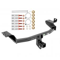 "Trailer Tow Hitch For 14-19 Jeep Cherokee All Styles 2"" Towing Receiver Class 3"