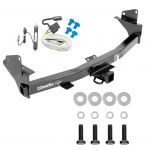 Trailer Tow Hitch For 15-20 Chevy Colorado GMC Canyon w/ Wiring Harness Kit