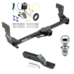 """Trailer Tow Hitch For 16-17 Mercedes-Benz Metris Complete Package w/ Wiring and 1-7/8"""" Ball"""