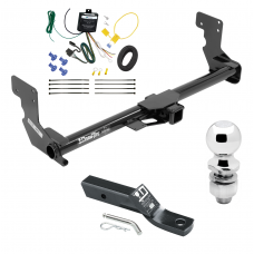 "Trailer Tow Hitch For 16-19 Mercedes-Benz Metris Complete Package w/ Wiring and 2"" Ball"