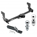 """Trailer Tow Hitch For 16-17 Mercedes-Benz Metris Receiver w/ 1-7/8"""" and 2"""" Ball"""