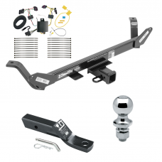 "Trailer Tow Hitch For 16-17 BMW X1 Complete Package w/ Wiring and 1-7/8"" Ball"