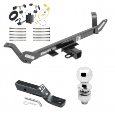 "Trailer Tow Hitch For 16-17 BMW X1 Complete Package w/ Wiring and 2"" Ball"