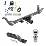 "Trailer Tow Hitch For 2018 BMW X1 Complete Package w/ Wiring and 1-7/8"" Ball"
