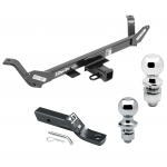 "Trailer Tow Hitch For 16-18 BMW X1 Receiver w/ 1-7/8"" and 2"" Ball"