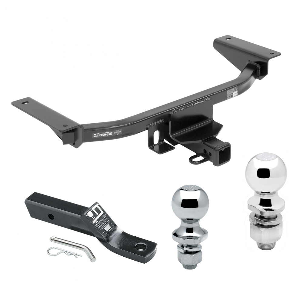 Trailer Tow Hitch For 16-19 Mazda CX-9 Receiver W/ 1-7/8