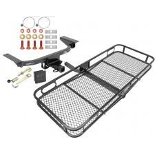 Trailer Tow Hitch For 16-20 Mazda CX-9 Basket Cargo Carrier Platform Hitch Lock and Cover