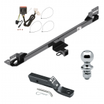 "Trailer Tow Hitch For 11-17 Honda Odyssey Complete Package w/ Wiring and 1-7/8"" Ball"