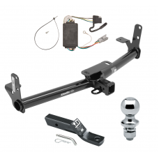"Trailer Tow Hitch For 05-06 Chevy Equinox 06 Pontiac Torrent Complete Package w/ Wiring and 1-7/8"" Ball"