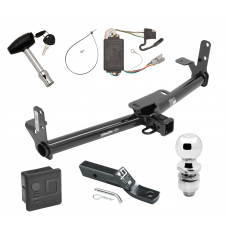 """Trailer Tow Hitch For 05-06 Chevy Equinox 06 Pontiac Torrent Deluxe Package Wiring 2"""" Ball and Lock"""