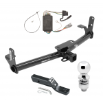 "Trailer Tow Hitch For 05-06 Chevy Equinox 06 Pontiac Torrent Complete Package w/ Wiring and 2"" Ball"