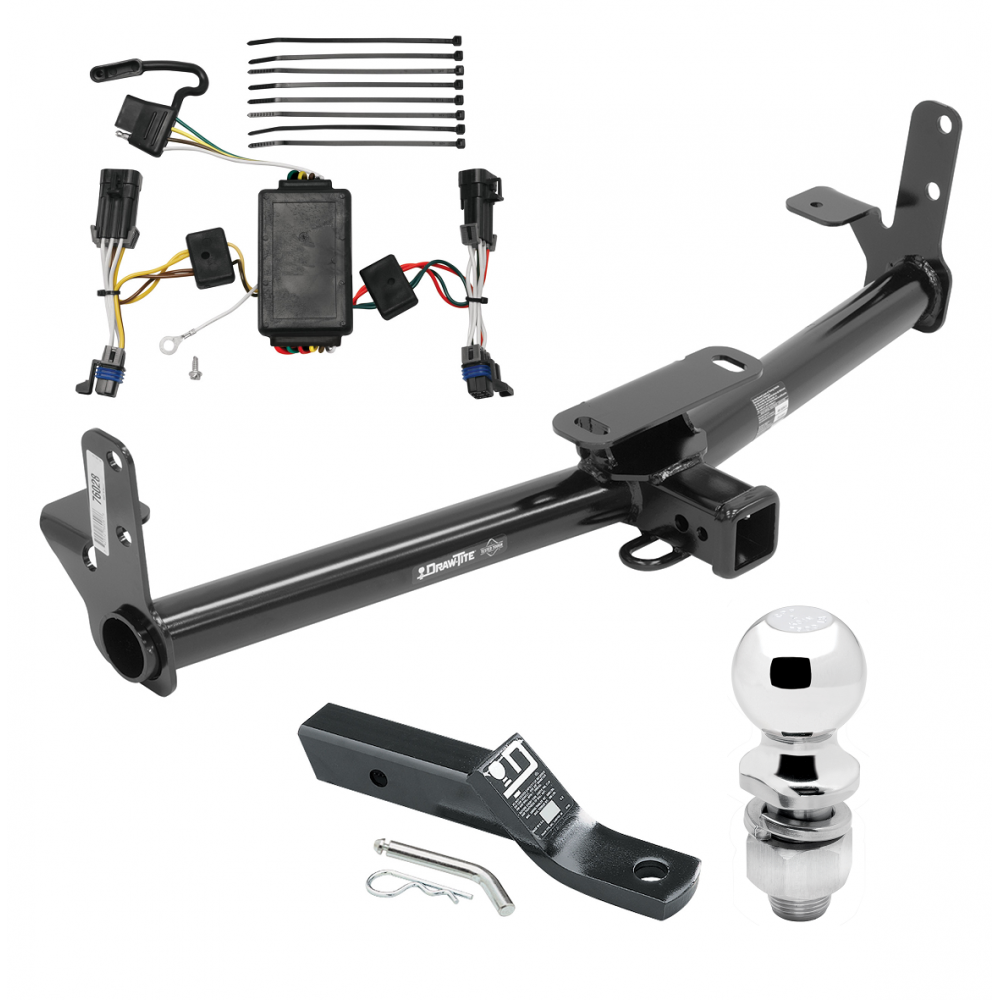 trailer tow hitch for 02 07 saturn vue complete package w. Black Bedroom Furniture Sets. Home Design Ideas