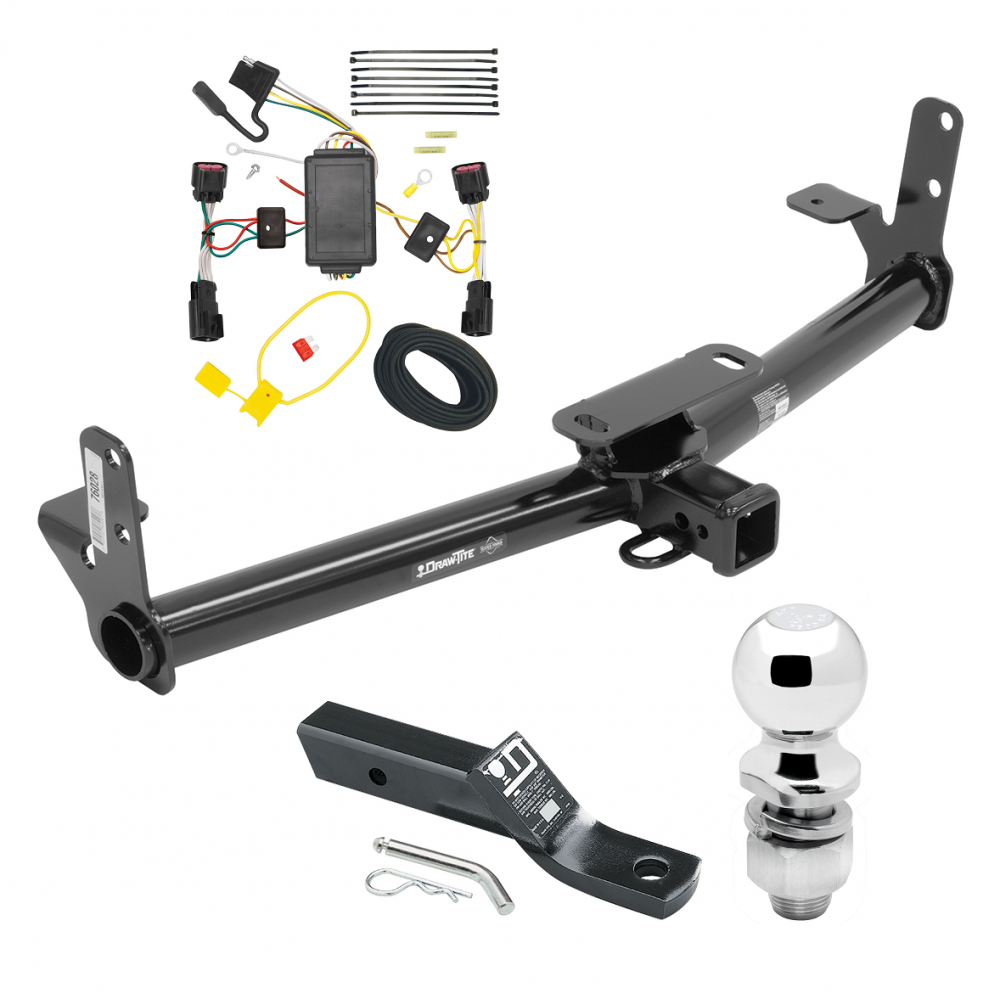 trailer tow hitch for 10 17 chevy equinox gmc terrain complete 2007 Chevy Equinox Trailer Wiring
