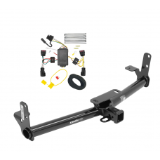 Trailer Tow Hitch For 10-17 Chevy Equinox GMC Terrain w/ Wiring Harness Kit