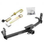 "Trailer Tow Hitch For 05-17 Chevy Equinox 10-17 GMC Terrain Class 3 2"" Receiver w/ J-Pin Anti-Rattle Lock"