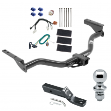 """Trailer Tow Hitch For 13-19 Nissan Pathfinder 14-19 Infiniti QX60 Complete Package w/ Wiring and 1-7/8"""" Ball"""
