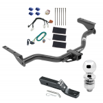 "Trailer Tow Hitch For 13-19 Nissan Pathfinder 14-19 Infiniti QX60 Complete Package w/ Wiring and 2"" Ball"