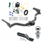 "Trailer Tow Hitch For 2013 Infiniti JX35 Complete Package w/ Wiring and 1-7/8"" Ball"