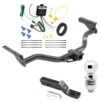 "Trailer Tow Hitch For 2013 Infiniti JX35 Complete Package w/ Wiring and 2"" Ball"
