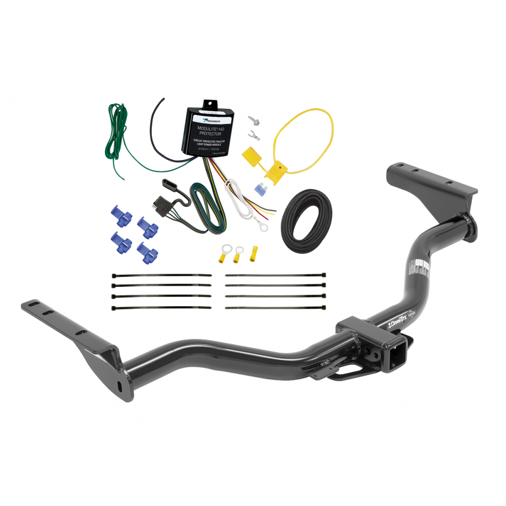 Trailer Tow Hitch For 2013 Infiniti JX35 w/ Wiring Harness Kit on towing stone guards, dodge ignition wire harness, car towing harness, towing light harness, towing wiring connectors, towing accessories, towing cable, ford focus trailer harness,