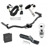 """Trailer Tow Hitch For 11-19 Ford Explorer Deluxe Package Wiring 2"""" Ball and Lock"""