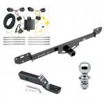 "Trailer Tow Hitch For 14-19 RAM ProMaster 1500 2500 3500 Complete Package w/ Wiring and 1-7/8"" Ball"