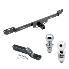 """Trailer Tow Hitch For 14-19 RAM ProMaster 1500 2500 3500 Receiver w/ 1-7/8"""" and 2"""" Ball"""