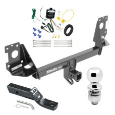 "Trailer Tow Hitch For 17-19 Audi Q7 Complete Package w/ Wiring and 2"" Ball"