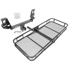 Trailer Tow Hitch For 17-19 Audi Q7 Basket Cargo Carrier Platform w/ Hitch Pin