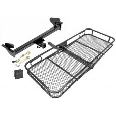 Trailer Tow Hitch For 16-17 Nissan NP300 Navara International Only Basket Cargo Carrier Platform Hitch Lock and Cover