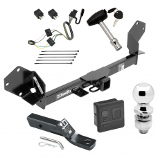 """Trailer Tow Hitch For 16-18 Buick Envision Deluxe Package Wiring 2"""" Ball and Lock"""