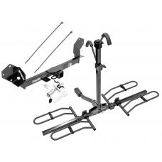 Trailer Tow Hitch For 16-18 Buick Envision Platform Style 2 Bike Rack w/ Anti Rattle Hitch Lock
