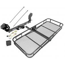 Trailer Tow Hitch For 16-18 Buick Envision Basket Cargo Carrier Platform Hitch Lock and Cover