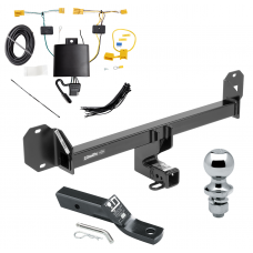 "Trailer Tow Hitch For 16-18 Mercedes-Benz GLC300 Except PO3 Premium Package Complete Package w/ Wiring and 1-7/8"" Ball"
