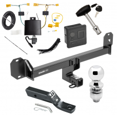 "Trailer Tow Hitch For 16-18 Mercedes-Benz GLC300 Except PO3 Premium Package Deluxe Package Wiring 2"" Ball and Lock"