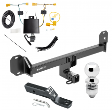 "Trailer Tow Hitch For 16-18 Mercedes-Benz GLC300 Except PO3 Premium Package Complete Package w/ Wiring and 2"" Ball"