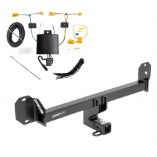 Trailer Tow Hitch For 16-18 Mercedes-Benz GLC300 Except PO3 Premium Package w/ Wiring Harness Kit