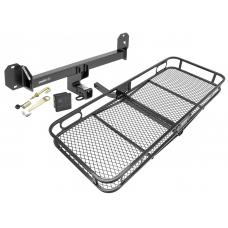 Trailer Tow Hitch For 16-19 Mercedes GLC300 Basket Cargo Carrier Platform Hitch Lock and Cover