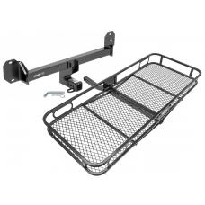 Trailer Tow Hitch For 16-19 Mercedes GLC300 Basket Cargo Carrier Platform w/ Hitch Pin