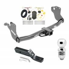 """Trailer Tow Hitch For 11-19 Mitsubishi Outlander Sport RVR Complete Package w/ Wiring and 2"""" Ball"""