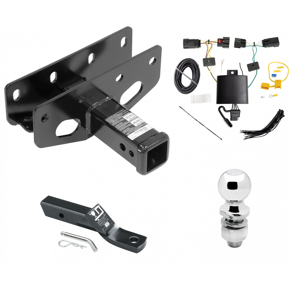 Trailer Tow Hitch For 18-20 Jeep Wrangler JL Except Sahara and Rubicon on jeep trailer hitch, jeep trailer accessories, jeep instrument cluster, jeep electrical harness, jeep door locks, jeep trailer lights, jeep trailer brake controller, jeep seat covers, jeep alternator wiring, jeep ignition switch, jeep towing, jeep cold air intake,
