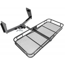 Trailer Tow Hitch For 15-16 Mitsubishi L200 Triton Basket Cargo Carrier Platform w/ Hitch Pin