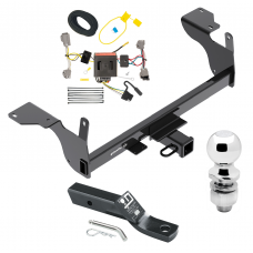 """Trailer Tow Hitch For 14-17 Volvo XC60 Complete Package w/ Wiring and 2"""" Ball"""